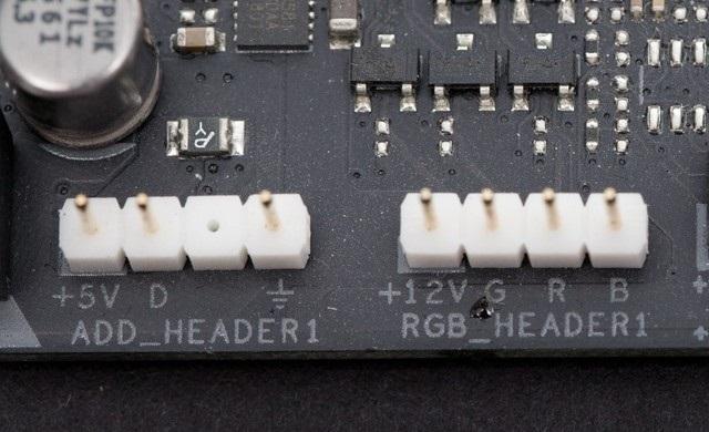主板RGB灯接针