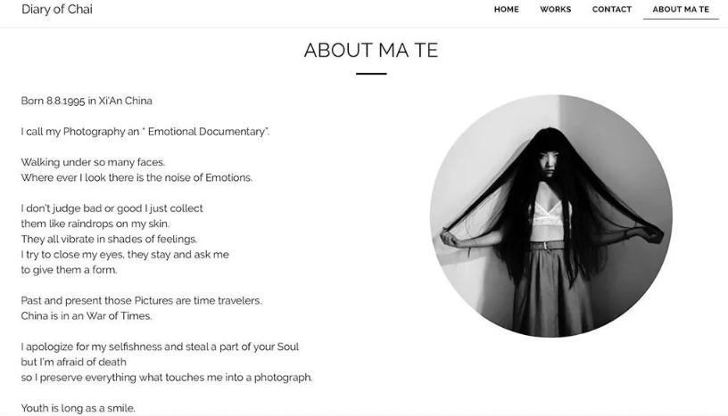 Ma Te的个人官网