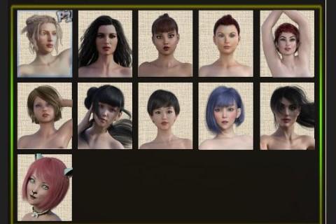 所有的全裸女战士
