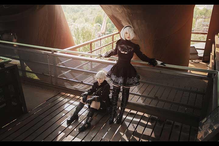 尼尔机械纪元cosplay缩略图3